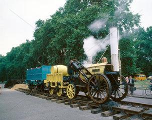 Stephenson's 'Rocket'  1829.