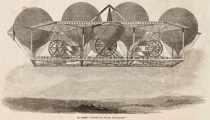 'Mr Petin's 'System of Aerial Navigation''  1844-1884.
