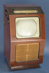 Mullard MTS521A 12-inch console television receiver  c 1949.