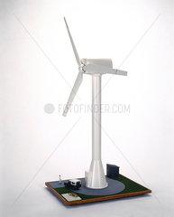 Howden's HWP 300 wind turbine  1988.