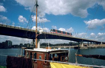 Docklands Light Railway  1993.