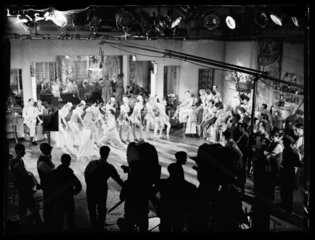 Filming 'I'll Stick to You'  1933.