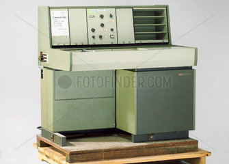 Nuclear magnetic resonance spectrometer  1969.