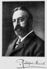 Rudolf Messel  German industrial chemist  early 20th century.