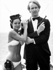 Peter Davison and Nicola Bryant  21 October 1983.