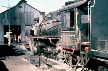 2-10-2 steam locomotive No 119 of the RFIRT