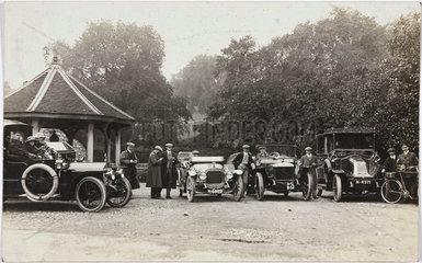 Motor cars  c 1912.
