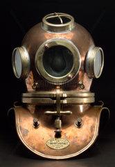 Diving helmet  19th century.