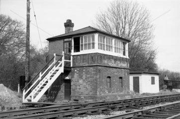 Shelwick Junction  Herefordshire  1972.