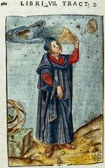 Figure with quadrant  c 1503.