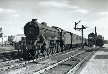 'Everton'  steam locomotive No 61663  1950.
