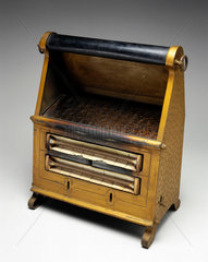 Two bar radiant electric fire  1925-1930.