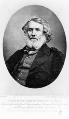 Sir George Everest  military engineer  1854-1866.