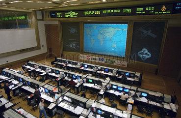 Soviet Mission Control Centre  Russia  30 April 2003.