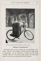 'Picking up Handkerchief'  1901.