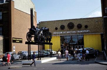 Museum of British Transport  Clapham  1966.