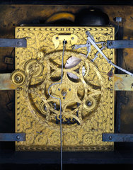 Pedestal astronomical clock  c 1695.