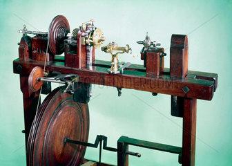 Ornamental lathe  18th-19th century.