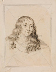 Edward Somerset  Marquis of Worcester  c 1650s.