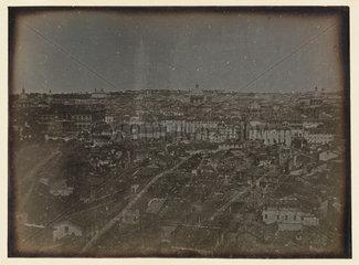'Rome  Panorama from San Pietro in Montorio'  1841.