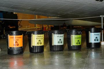 Recycling bins  Wroughton  June 2003.