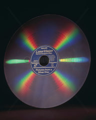 Philips laser vision disc.