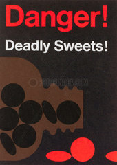 'Danger Deadly Sweet! � poster  c 1980s.