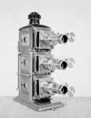 Early triunnial lantern  c 1890 by J H Stew