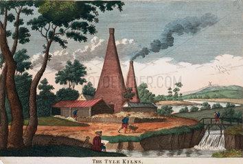 'The Tyle Kilns'  1780-1830.