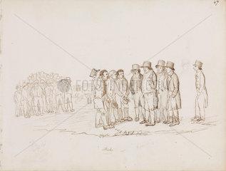 Mining delegates  Northumberland  c 1805-1820.