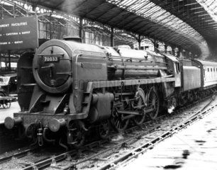 'Charles Dickens'  No 70033  Euston Station