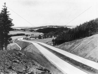 German State Motor Road  c 1936.