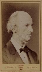 William Benjamin Carpenter  physiologist and naturalist  c 1870s.
