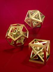 Regular polyhedra  c 1650-1691.