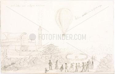 'Mr Glaisher's Voyage'  5 September 1862.