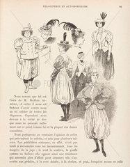 Cycling wear for women  1898.