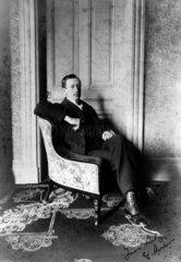 Gugliemo Marconi  Italian radio pioneer  c 1890s.