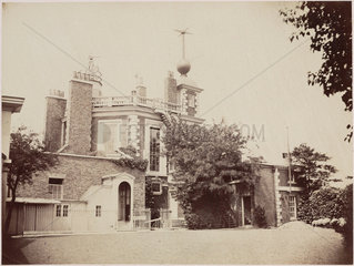 The Royal Observatory  Greenwich  London  mid 19th century.