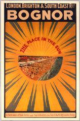 'Bognor  the Place in the Sun'  1910. Londo