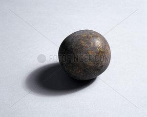 Spherical goa stone  Indian  c 17th century.