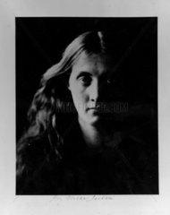 'Julia J full face'  April 1867. Photograph
