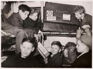 British boys sailing to Rhodesia  1946.