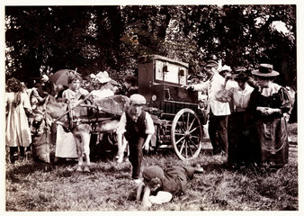 Barrel organ  1898.