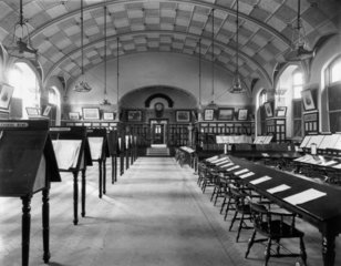 Reading Room at Swindon Works  3 August 191