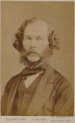 George Henry Lewes  English writer and philosopher  c 1865-1878.