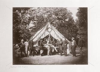 Gettysburg field hospital  Pennsylvania  USA  July  1863.