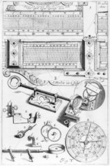 Bromide print  from Hevelius's Machina
