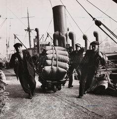 Liverpool docks  1942.