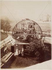 Wigglesworth Observatory under construction  Scarborough  1885.