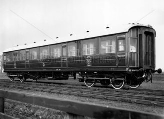 ECJS 24 third class carriage  1907.